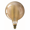 Philips 76808200 Vintage LED Filament Giants G200 5-25W E27 Gold Flame