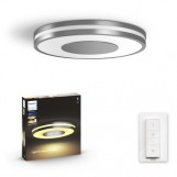 Philips 3261048P6 Hue Being Plafondlamp White Ambiance Aluminium inclusief DIM Switch