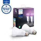 Philips 67328400 Hue White and Color Ambiance 9W E27 (duopack)
