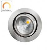 SG 901232 DimToWarm Gyro IsoSafe Geborsteld Staal 6W LED 2000K-2800K 42° Ra95