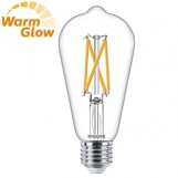 Philips 8718699770440 LED Classic ST64 7-60W E27 Warmglow