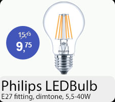 Philips WarmGlow E27